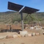 Solar powered bore-hole